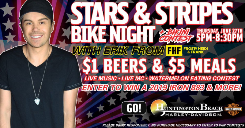 Star & Stripes Bike Night & Bikini Contest in Westminster at