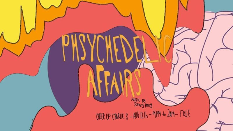 Psychedelic Affairs (Open Mic + Tarot reading) in Austin at Cheer