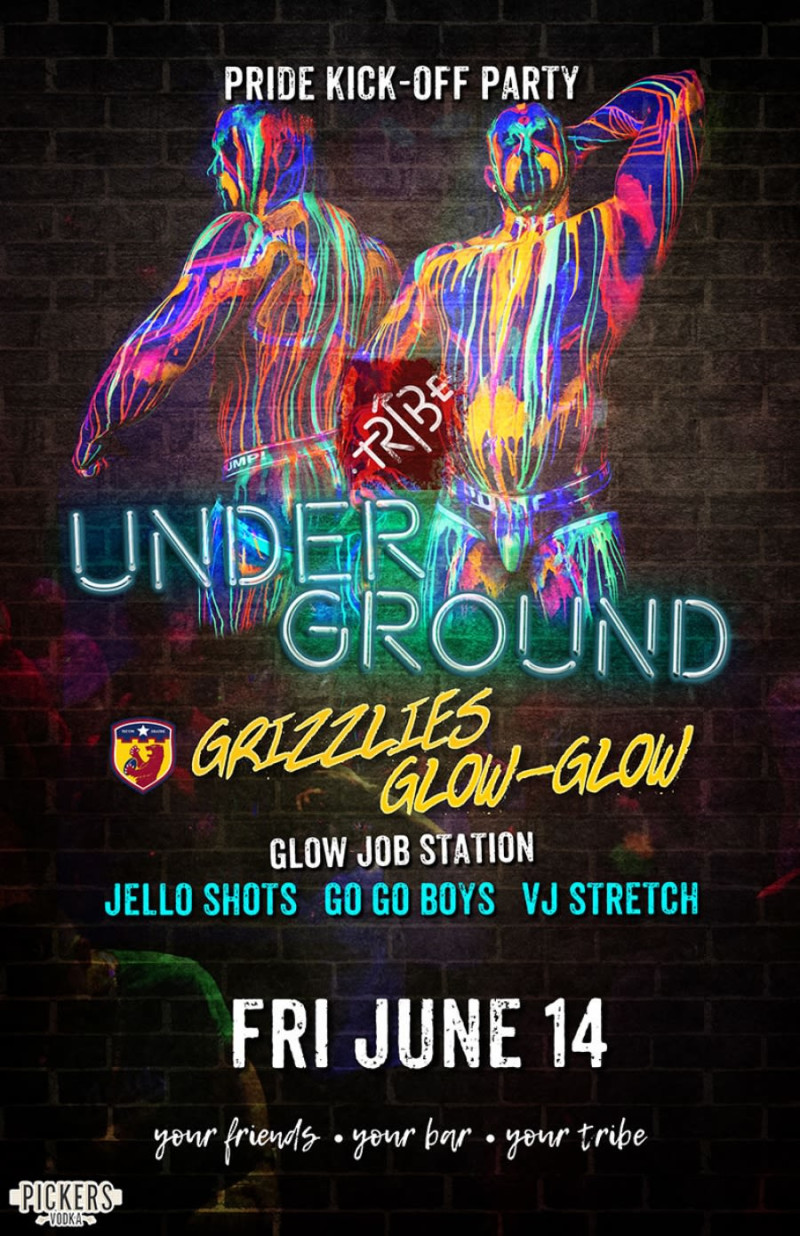 Underground: Pride Kick-Off Party in Nashville at TRIBE