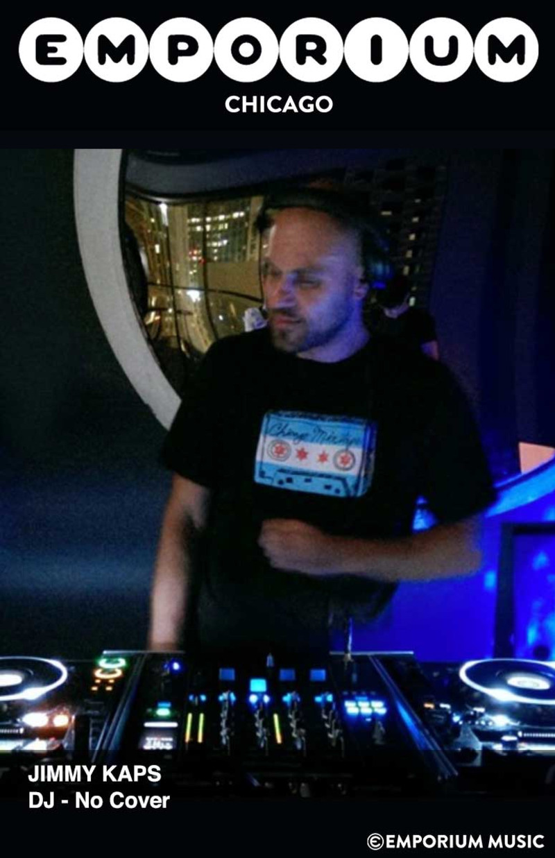 Jimmy Kaps (DJ) in Chicago at Emporium Arcade Bar - Logan Square