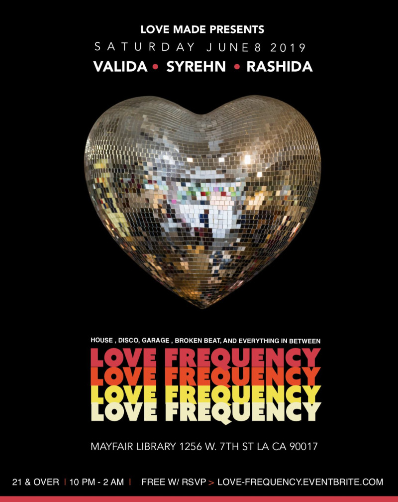 LOVE FREQUENCY in Los Angeles at Mayfair Hotel
