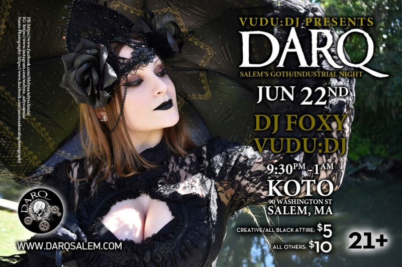 Darq Featuring Dj Foxy and Vudu:Dj at Koto