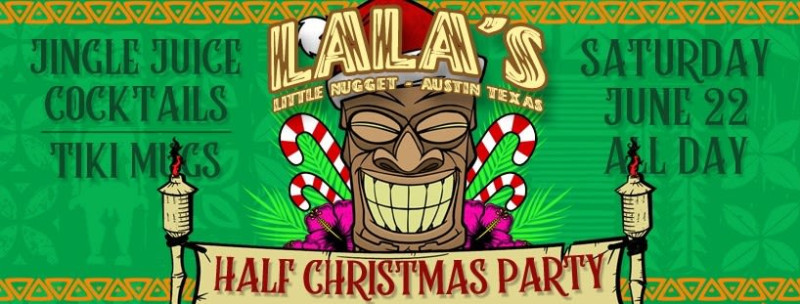 Christmas Party 2019 Clipart.Annual Half Christmas Party In Austin At Lala S