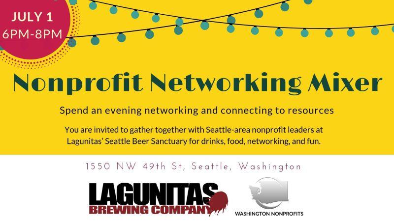 Nonprofit Networking Mixer in Seattle at Lagunitas Seattle