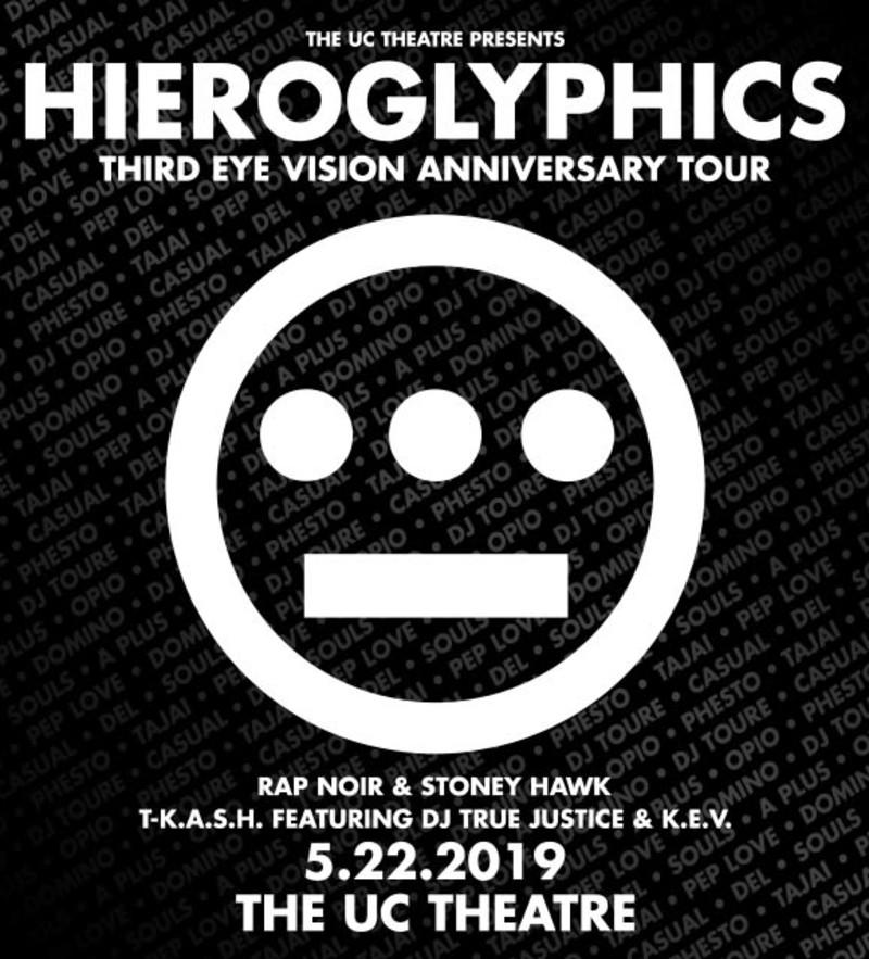 Postponed: Hieroglyphics in Berkeley at The UC Theatre