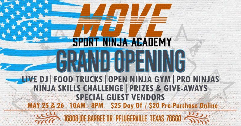 Move Sport Austin Ninja Academy Grand Opening | Do512 Family