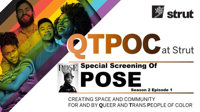 Pose Screening: Season 2 Premiere in San Francisco at Strut