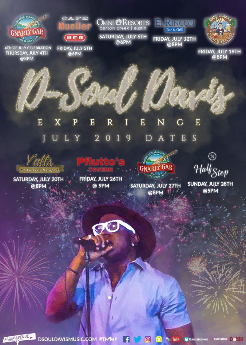 Omni Barton Creek Resort Presents: D-Soul Davis Experience  