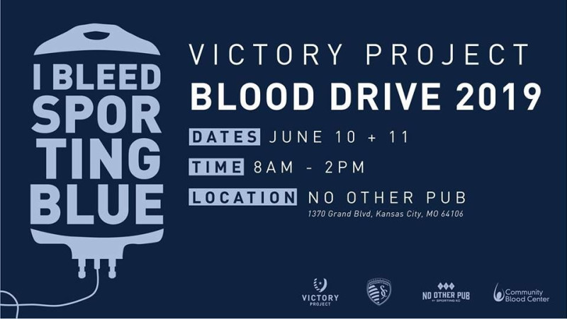 Victory Project Blood Drive in Kansas City at No Other Pub