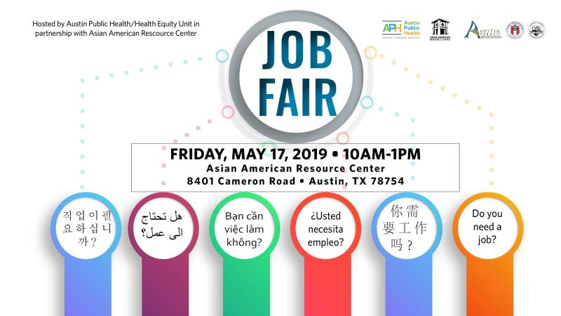 2019 Job Fair in Austin at Asian American Resource Center