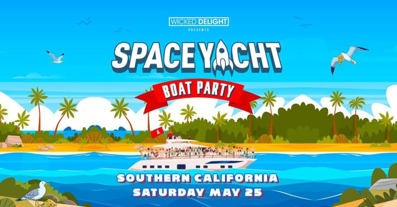 Space Yacht Boat Party 2019 in long beach at Catalina Classic