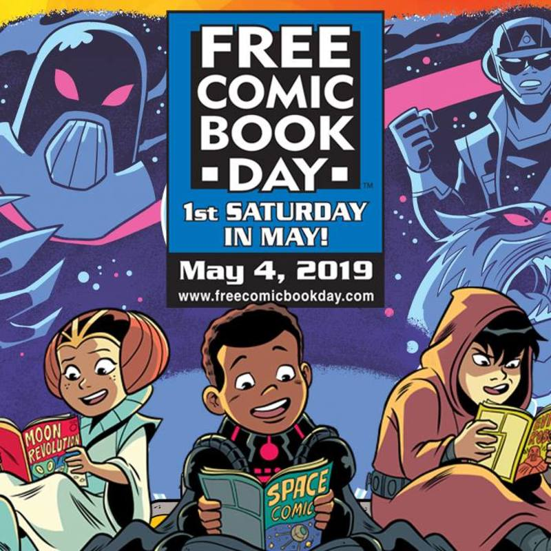 Free Comic Book Day 2019 At Rogues Gallery Comics Games Do512