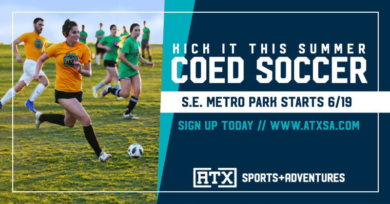 Summer Coed Soccer League (Wednesdays starting 6/19) in Del