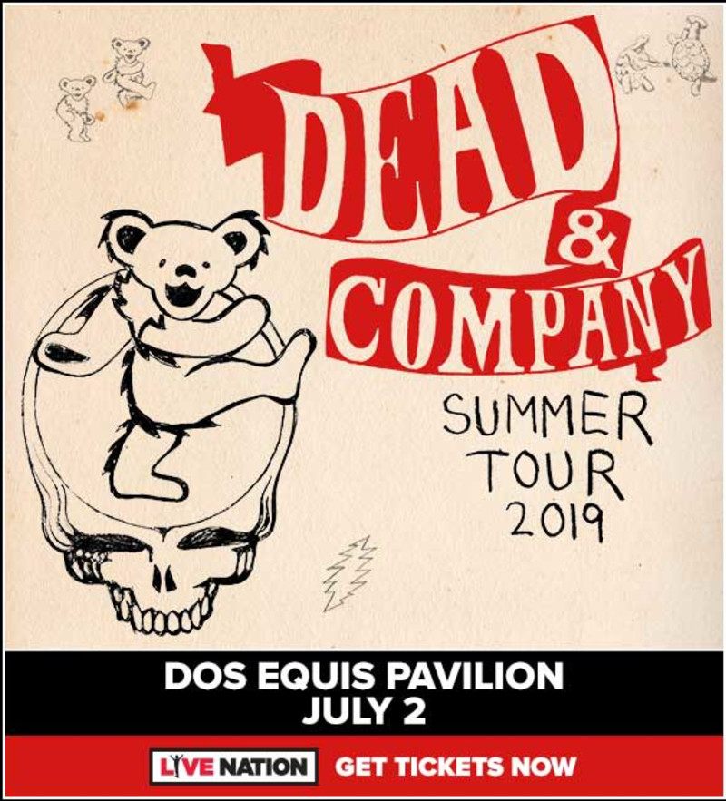 Dead Company In Dallas At Dos Equis Pavilion