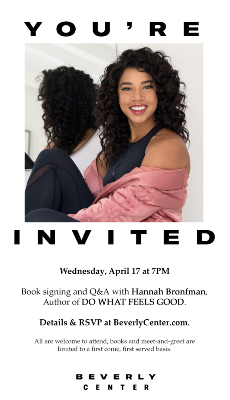 Beverly Center x Hannah Bronfman Book Signing in Los Angeles at