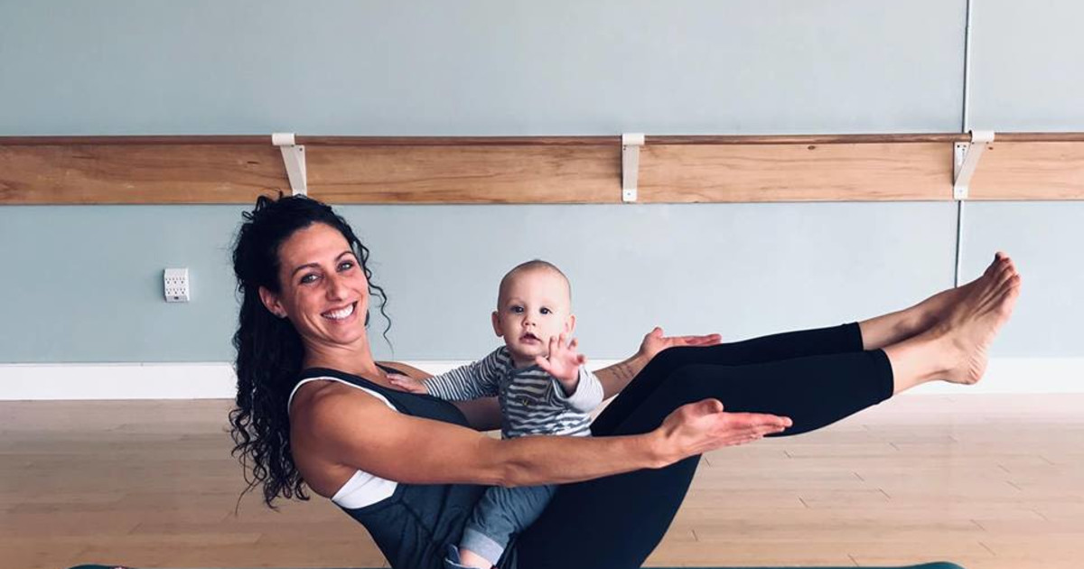 Mommy and Me Yoga in Indianapolis at Invoke Studio