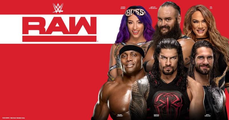 WWE RAW in Austin at Frank Erwin Center
