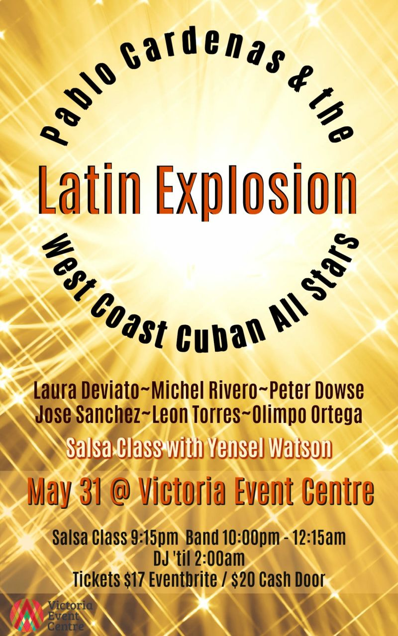 Latin Explosion - Pablo Cardenas & the West Coast Cuban All