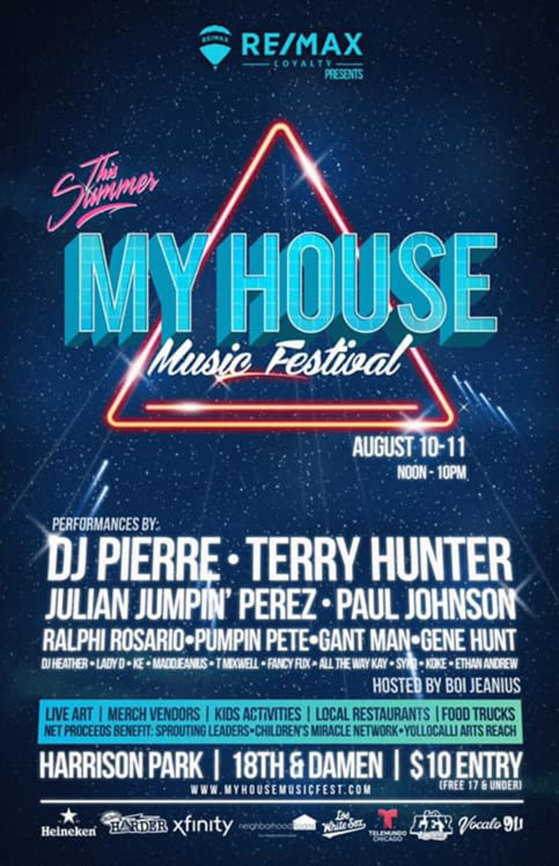 My House Music Festival at Harrison Park