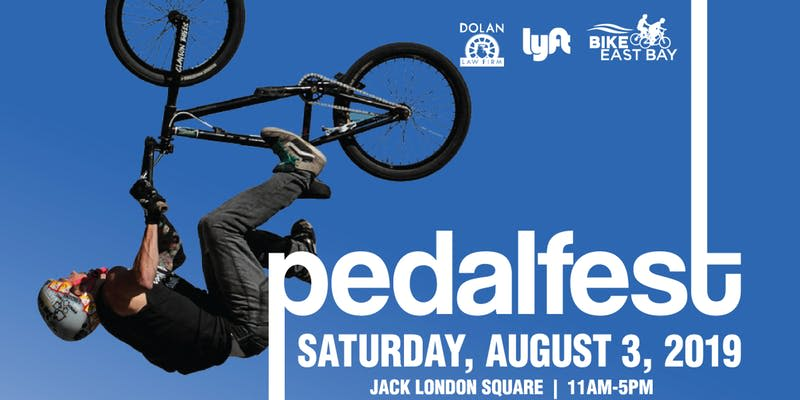 Pedalfest in Oakland at Jack London Square