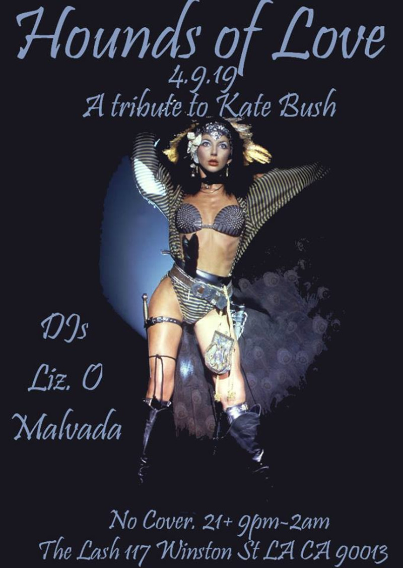 Kate Bush Tribute Night in Los Angeles at The Lash