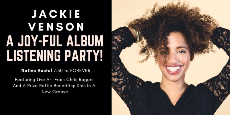 Jackie Venson: A Joy-Ful Album Listening Party in Austin at