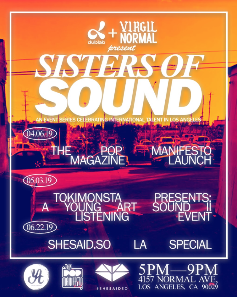 TOKiMONSTA Presents: A Young Art Sound II Listening Event in Los