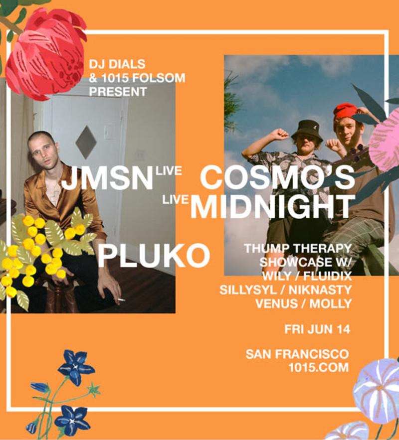 JMSN, Cosmo's Midnight in San Francisco at 1015 Folsom