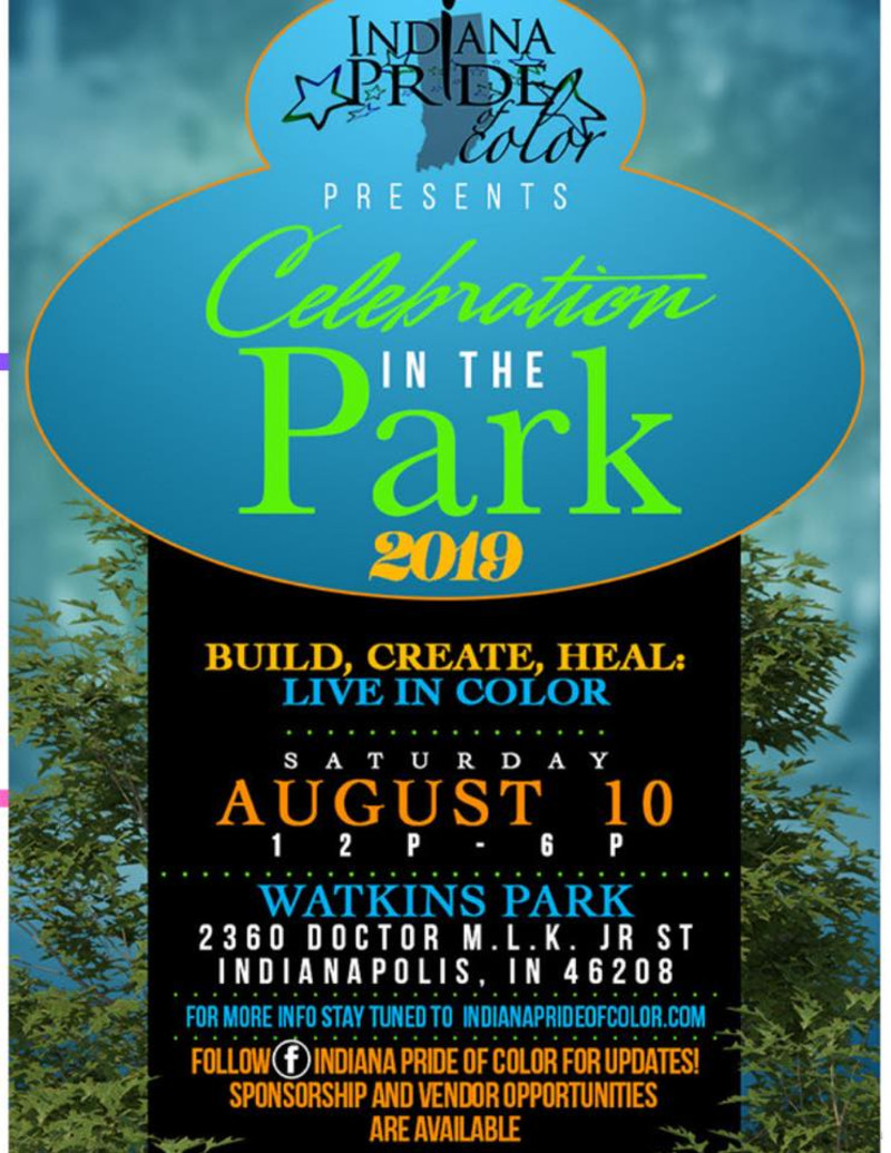 Celebration In The Park 2019 in Indianapolis at Watkins Park -