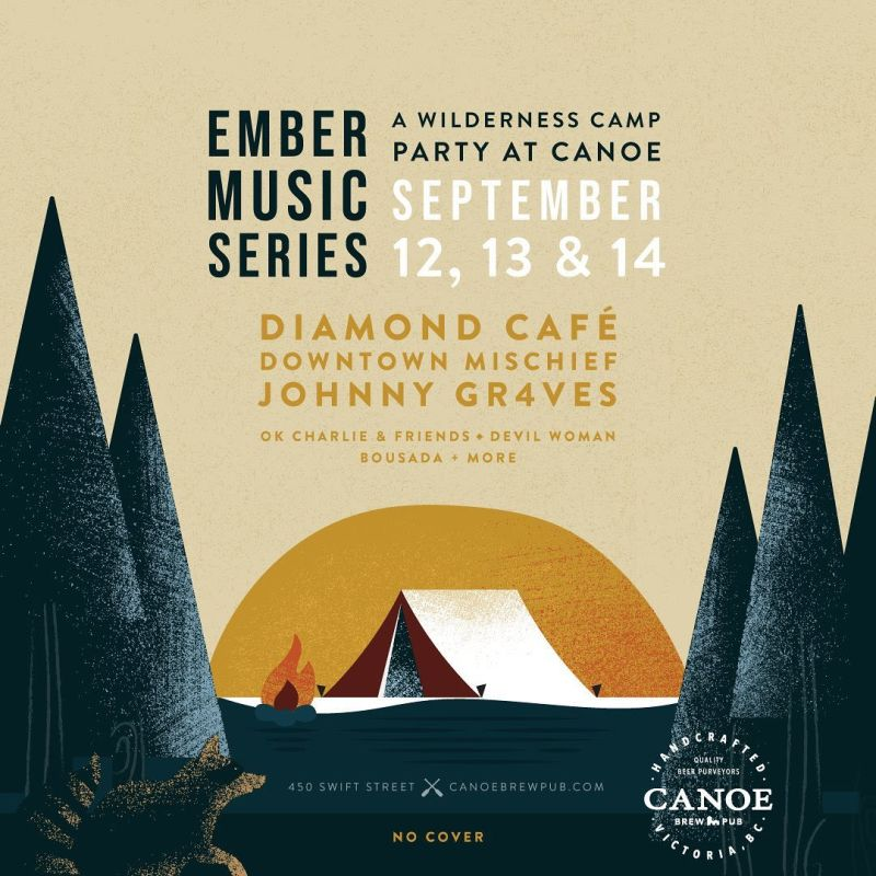Ember Music Series in Victoria at Canoe Brewpub