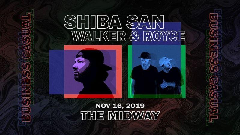 Shiba San X Walker & Royce in San Francisco at The Midway