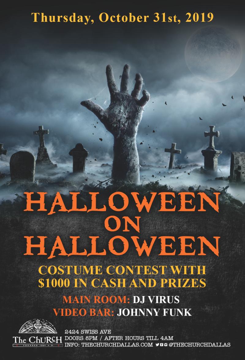 Swiss Avenue Dallas 2020 Halloween Halloween on Halloween in Dallas at The Church