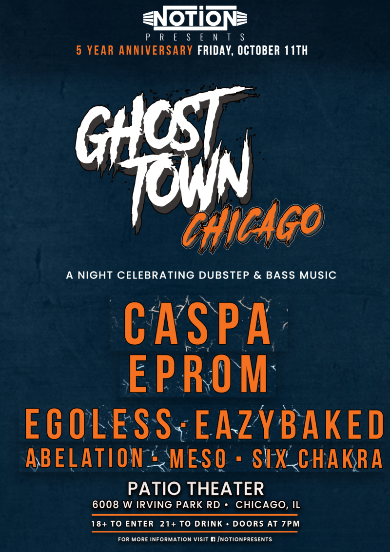 Caspa, Eprom, & More at The Patio Theater