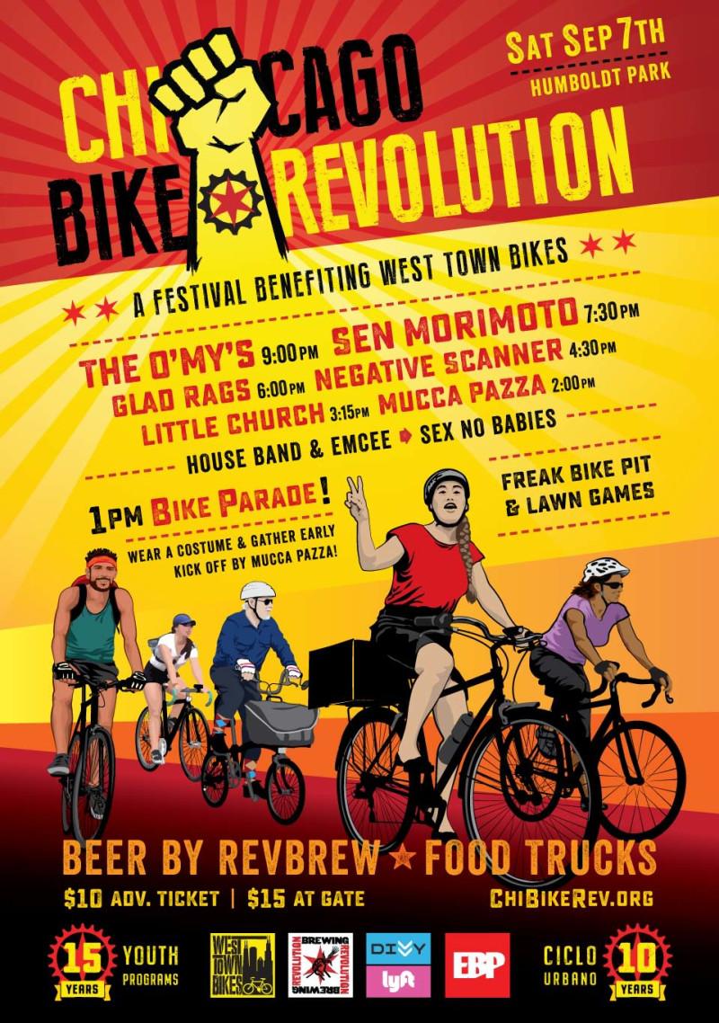 Chicago Bike Revolution in Chicago at Humboldt Park