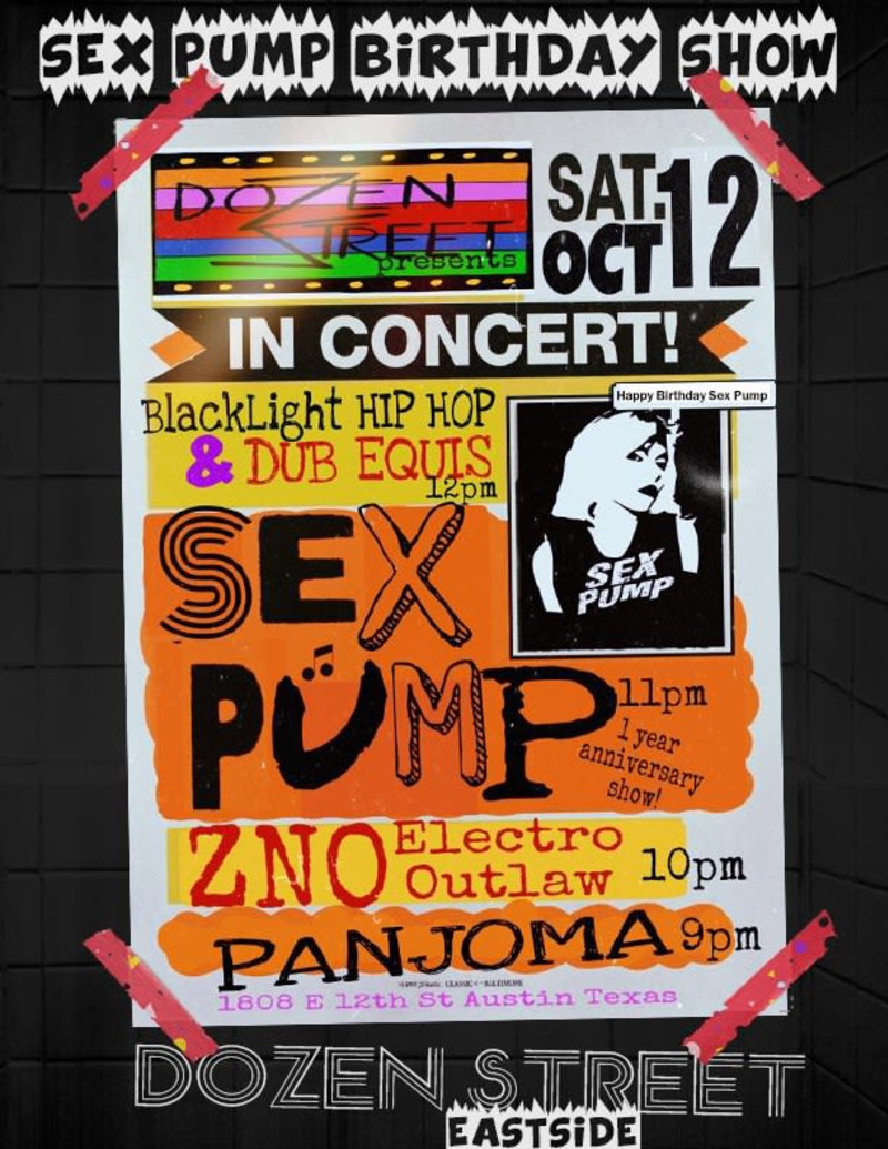 Happy Birthday Sex Pump W Blacklight Dubequis Zno Panjoma In