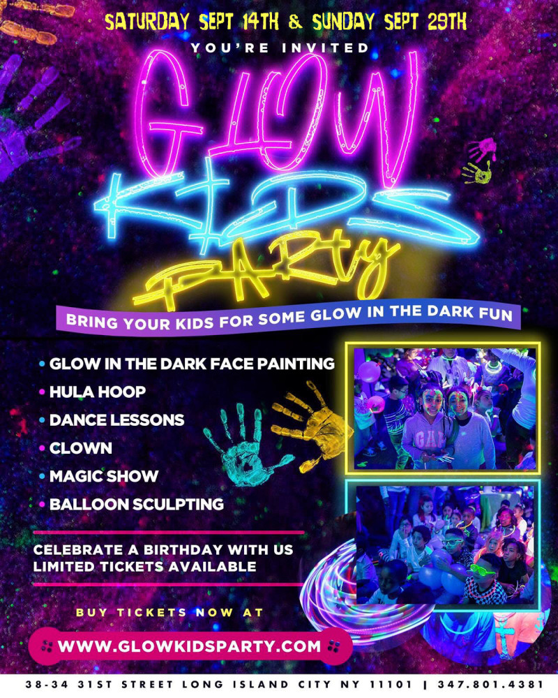 Glow Kids Party At Doha Nightclub