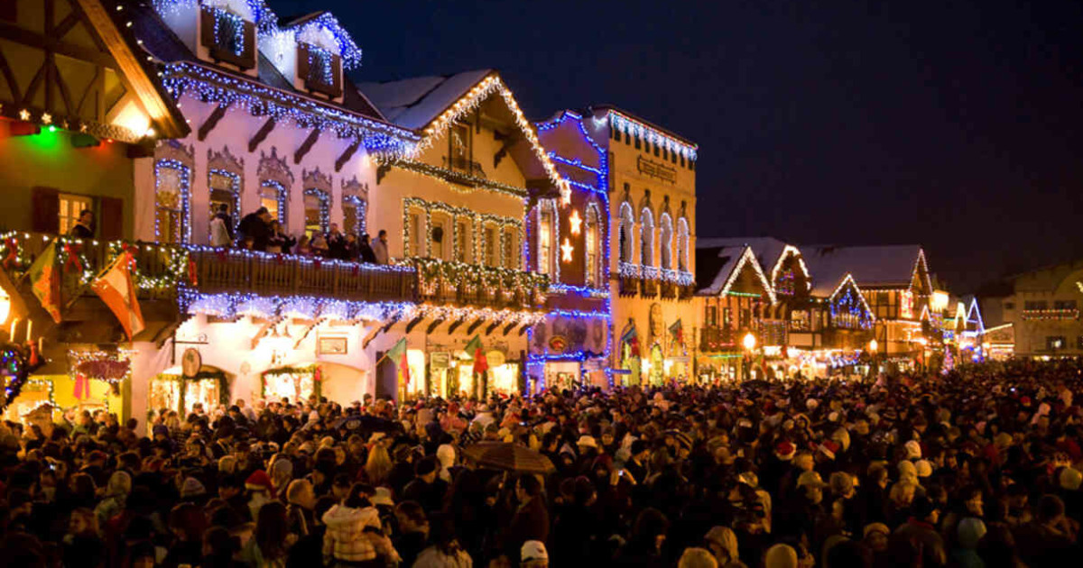 Leavenworth Christmas Lights.Leavenworth For The Christmas Lighting Festival Save 50 Off