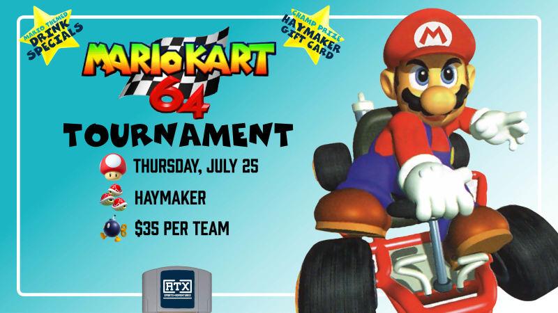 Mario Kart 64 Tournament In Austin At Haymaker