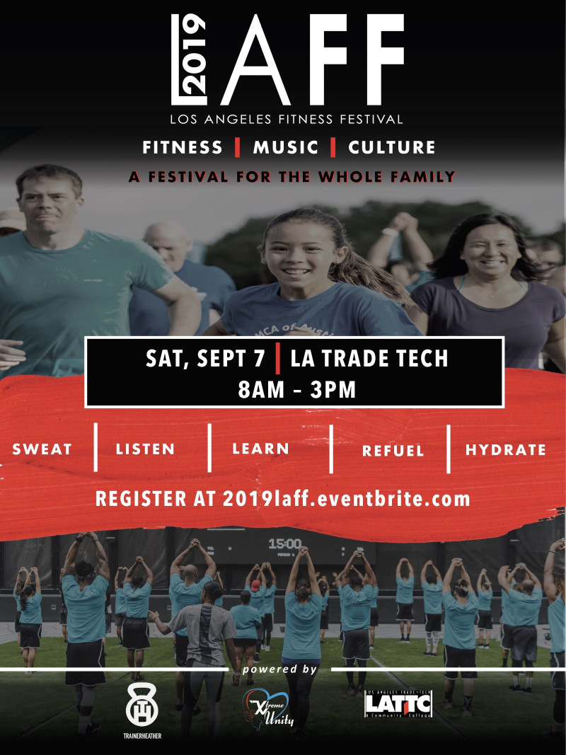 Los Angeles Fitness Festival in Los Angeles at LA Trade Tech