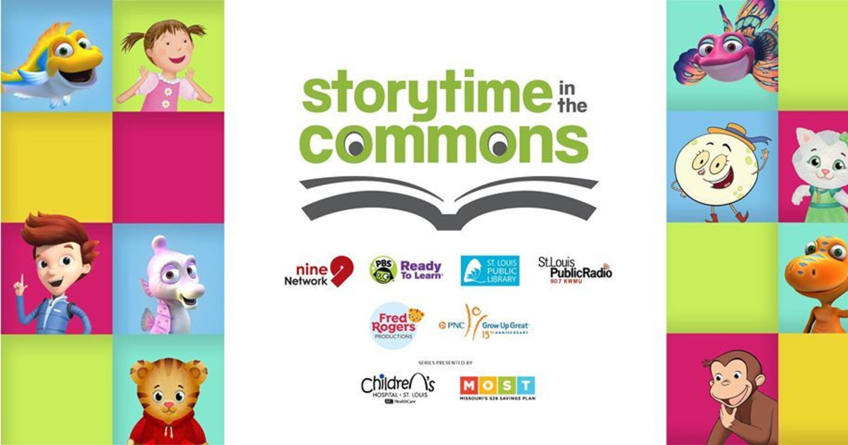 Storytime In The Commons Be My Neighbor Day In St Louis At Public