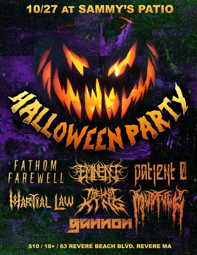 Halloween Feest.Halloween Party At Sammy S Patio