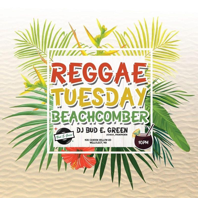 Reggae Tuesday at Wellfleet Beachcomber
