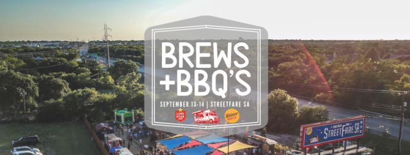 Brews + BBQ's in San Antonio at StreetFare SA