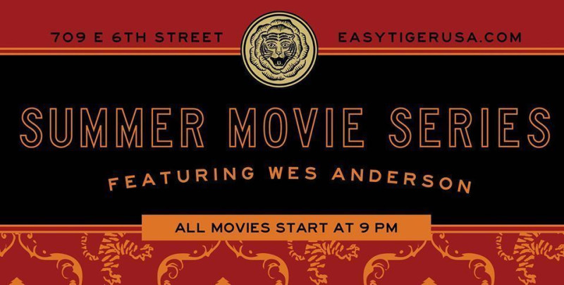 Wes Anderson Summer Movie Series: Moonrise Kingdom in Austin at