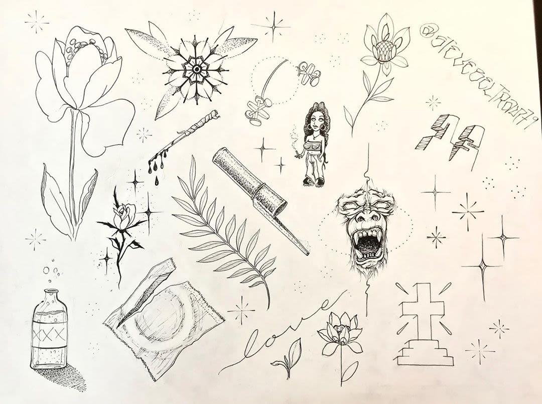 La S Friday The 13th Tattoo Specials