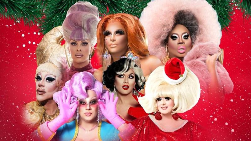 Drag Queen Christmas.A Drag Queen Christmas In Boston At Boch Center Wang