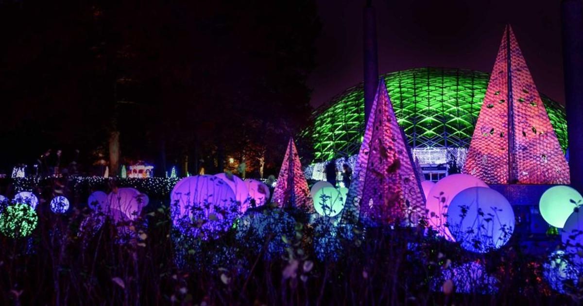 Garden Glow In St Louis At Missouri Botanical Garden