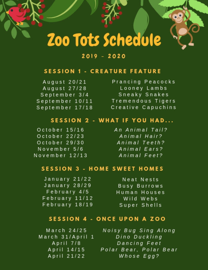 Austin Events August 2020.Zoo Tots In Austin At Austin Zoo Animal Sanctuary