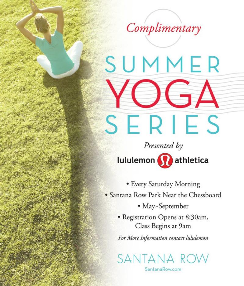 Lululemon Internship Summer 2020.Free Summer Yoga Series In San Jose At Santana Row