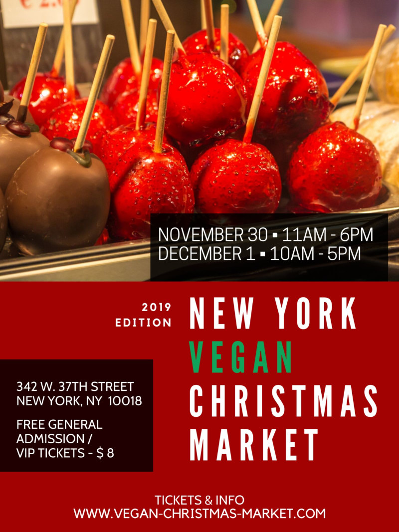 Christmas Market New York 2019.New York Vegan Christmas Market Brooklyn Vegan Nyc Shows